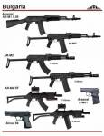 Болгария: Arsenal AR-M1 5.56, AR-M2, AR-M4 SF, Arcus 94, Arsenal P-M01