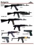 Болгария: Arsenal AR-M7, AR-M9, AR-SF, Arcus 98 DA, Arsenal P-M02