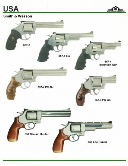 США: Smith & Wesson 657