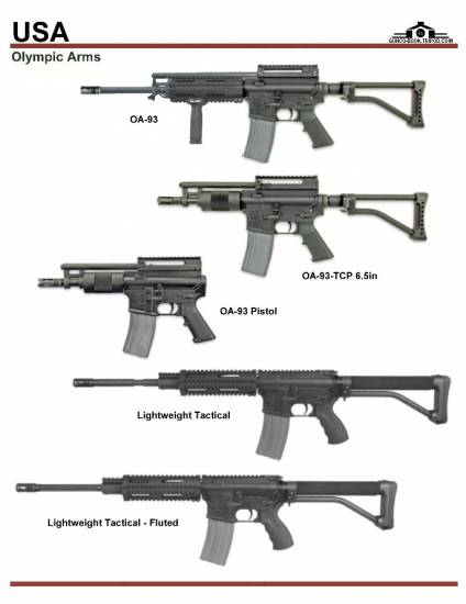 США: Olympic Arms OA-93, Lightweight Tactical