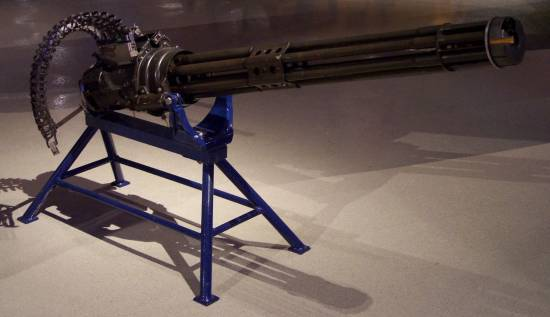 Minigun M134 Gatling