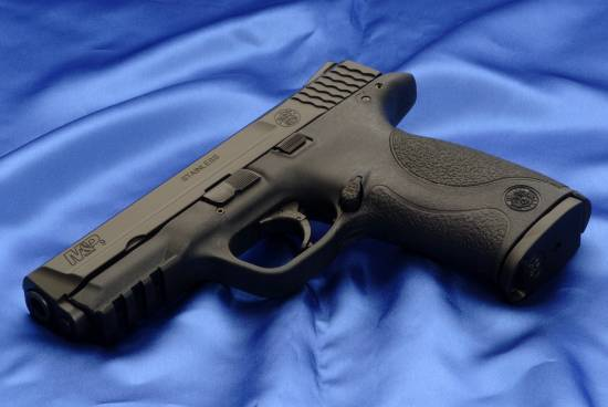 Smith & Wesson M&P9 chambered in 9 mm