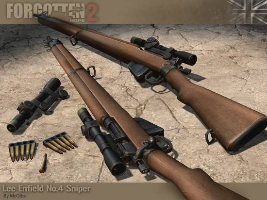 Lee Enfield No. 4 S