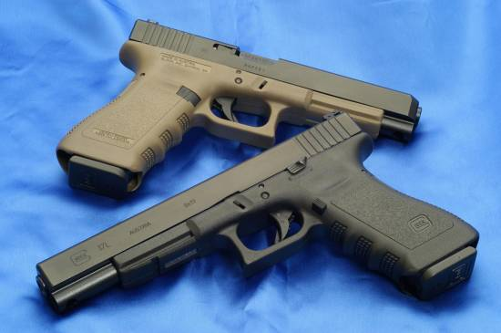 Glock 17L and 34