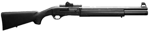 FN SLPS (Self Loading Police Shotgun)