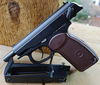 KWC Makarov Blowback